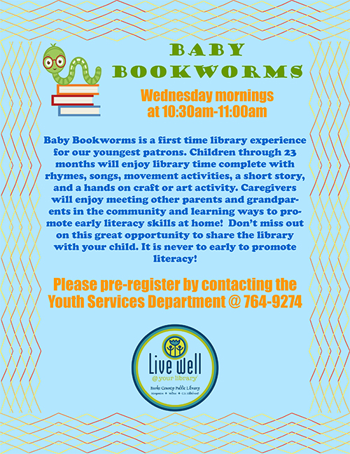 Baby Bookworms Flyer