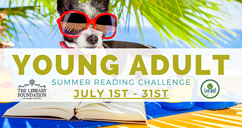Young Adult Summer Reading Challenge July 1st-31st